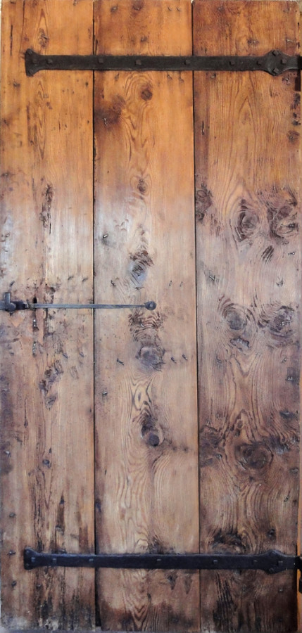 Frame And Plank Door Interior Doors Portes Antiques