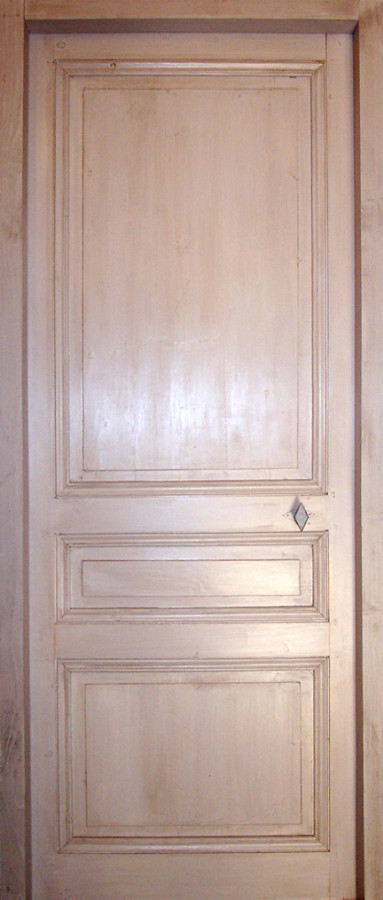Pine Door With 3 Pannels Interior Doors Portes Antiques