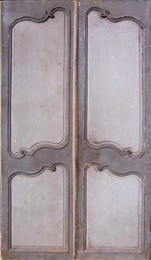 Louis Xv Period Double Doors Interior Doors Portes Antiques