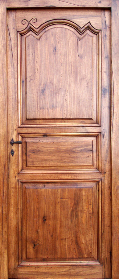 Regency Period 3 Pannel Door Interior Doors Portes Antiques