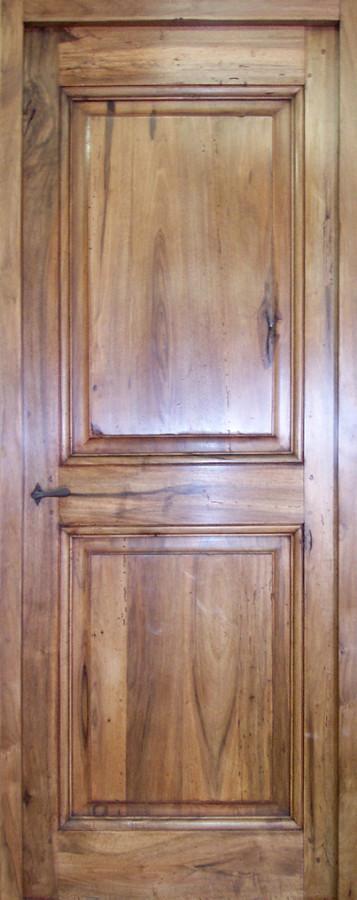 Xviiith century 2 pannel door interior doors portes antiques for French porte