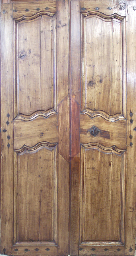 Stylish Double Doors Louis Xv Period Interior Doors