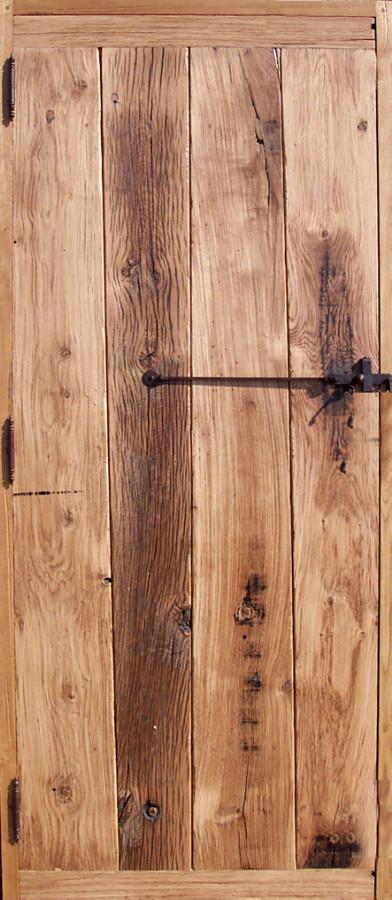 Old Oak Door With Verical Planks Interior Doors Portes