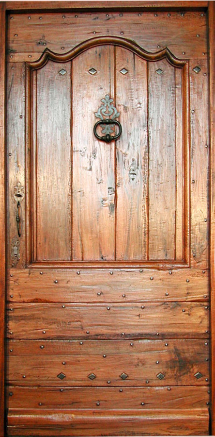 Entrance regency country style front doors portes antiques for Country style doors