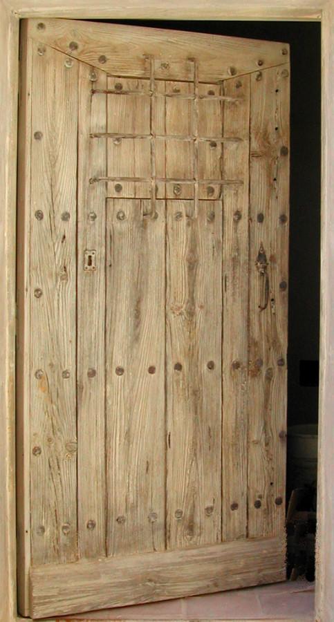 Rustic entrance door with bars front doors rustic doors for French porte
