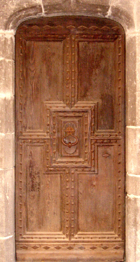 early renaissance entrance door front doors portes antiques. Black Bedroom Furniture Sets. Home Design Ideas