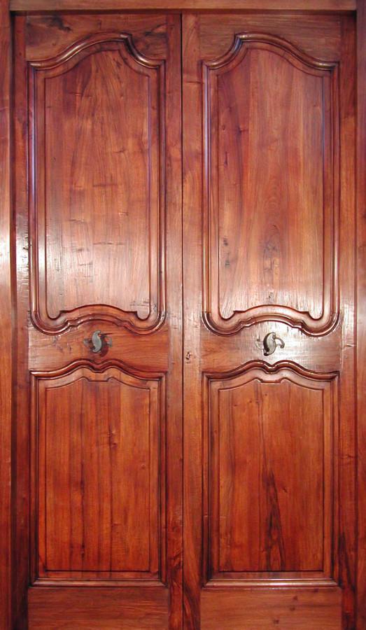 Louis Xv Double Leaf Door Interior Doors Portes Antiques