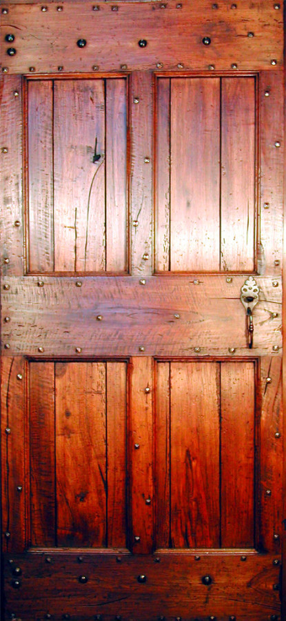 Rustic country door wallnut with wax patina or paint - Porte country chic ...