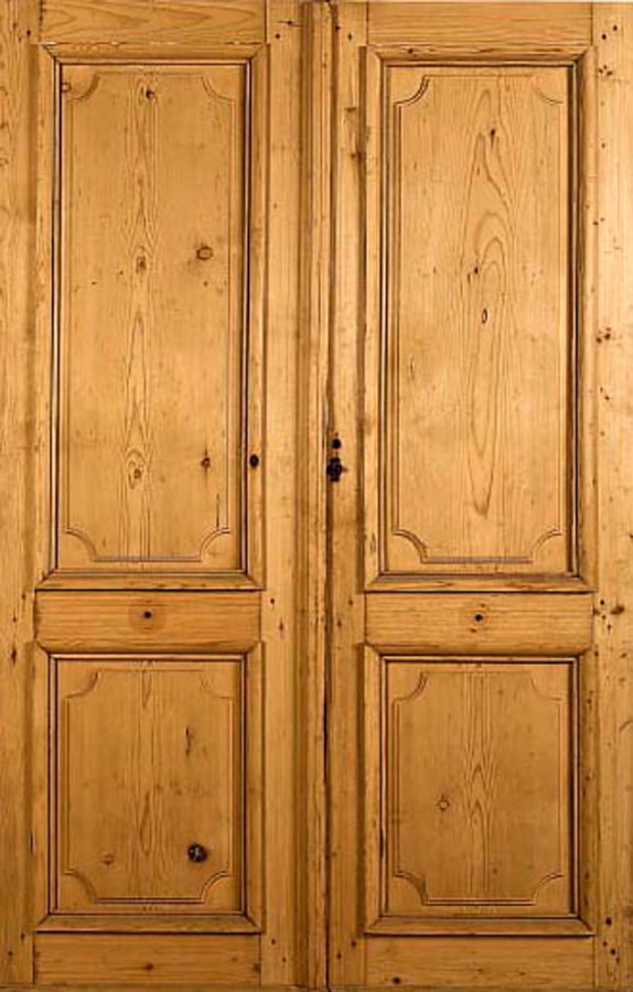 double leaf 2 pannel door interior doors portes antiques. Black Bedroom Furniture Sets. Home Design Ideas