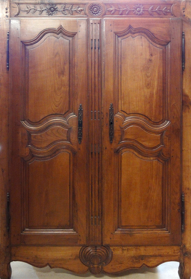 Complete Wardrobe Facing Decorative Cupboard Doors French